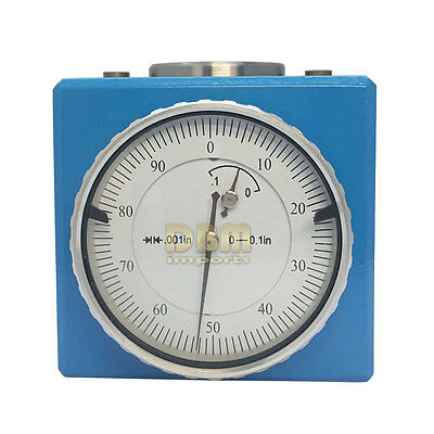 """Magnetic Z Axis Dial Setter  .0004"""" Gage Offset Pre Tool CNC with Wooden Box"""