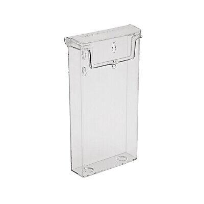 Prospekthalter, DIN lang, Prospektbox, Flyerhalter, wetterfest m. Deckel außen