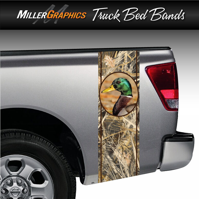 Camo Duck Hunting Truck Bed Decal Striping Graphics Vinyl Sticker