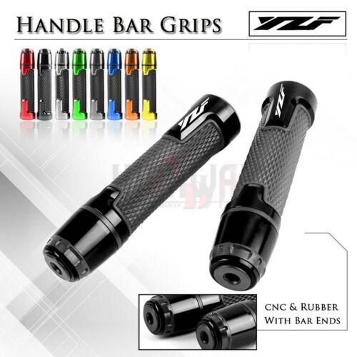 7//8 GEL Handle bar End Motorcycle Hand Grip fit YAMAHA YZF R3 YZFR3 15-19 YZF-R3
