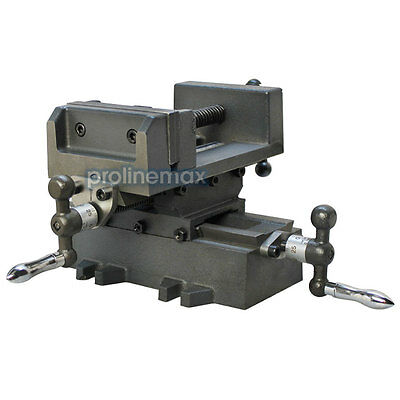 2 Way 3 Drill Press X-y Compound Vise Cross Over Slide Mill Drill Press Table
