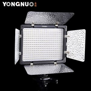 US Yongnuo YN-300 LED Illumination Dimming Video Light for SLR Camera Camcorder