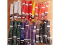 Judo/Karate Martial Arts Belts (Various Colours)