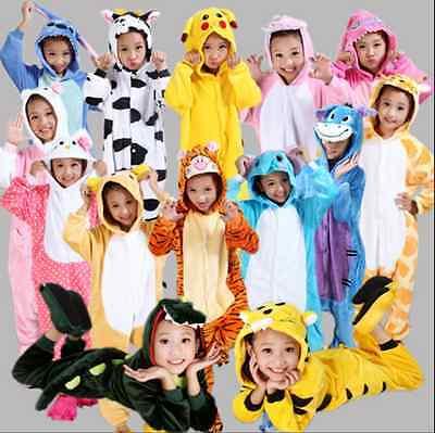 Hot Sale kids Pajamas Kigurumi Unisex Cosplay Animal Costume Cute Sleepwear