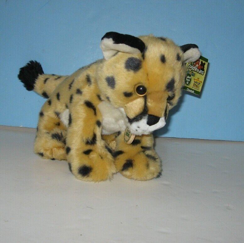 New Wild Republic K&M Cheetah Cub Wild Animal Buddy Pal