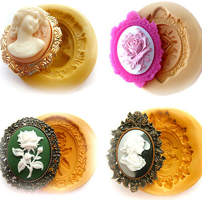 Sugarcraft Molds Polymer Clay Molds Cake Decorating Tools cameo set mold 3