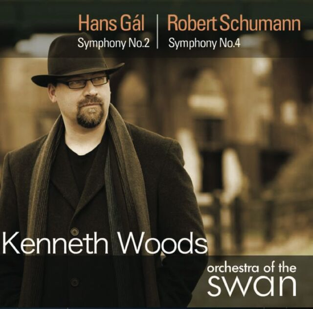 [NEW] CD: GAL SYMPHONY 2: SCHUMANN SYMPHONY 4: KENNETH WOODS