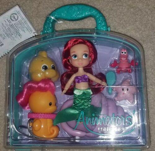 NEW Disney Parks Store Animators Collection Ariel Mini Doll