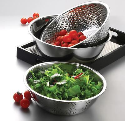 NEW 3 Pcs Stainless Steel Mixing Bowls Set & Unharmful Storage Kitchen Tool.
