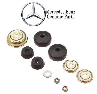 (For Mercedes R107 W123 W126 Engine Shock Mount Bushing Kit Genuine 1232400117)