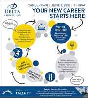Career Fair at Delta Fredericton