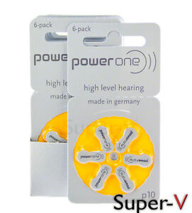 New-PowerOne-Hearing-Aid-Batteries-Size-10-60-Batteries-P10-PR70