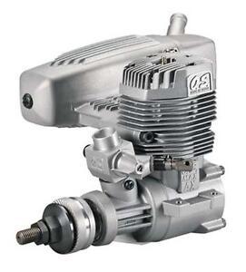 O.S MAX 75 AX Two Stroke Engine With Muffler NIB, 17400