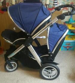 Oyster max 2 twin pram