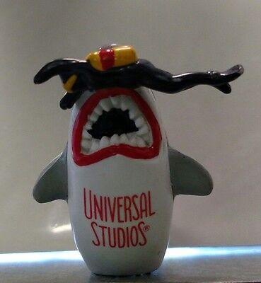 Jaws Pvc Figure 1975 Universal  Studios Shark Eating Diver Vintage Bruce Toy