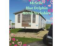 Caravans for hire @ Blue Dolphin North Yorkshire
