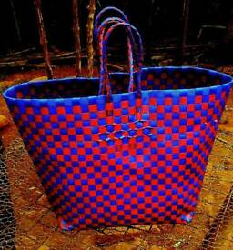Recycle plastic shopping bag