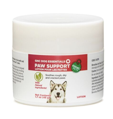DOG PAW SUPPORT LOTION GNC PETS  - $3.99