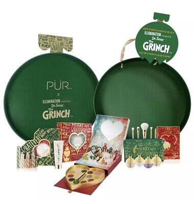 Pür The GRiNCH PR Package VAULT Limited Edition & RARE! 100% AUTHENTIC! NIB - The Grinch Make Up