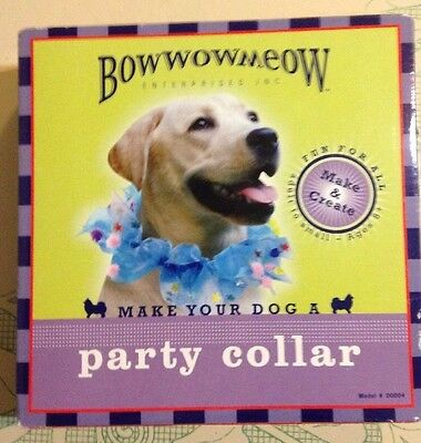 Make Your Dog a Party Collar: A Make and Create Kit by Bowwowmeow Enterprises
