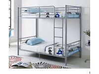☀️☀️50% SALE!☀️☀️METAL BUNK BED SINGLE BOTTOM AND TOP STANDARD 3FT SIZE BUNK BED