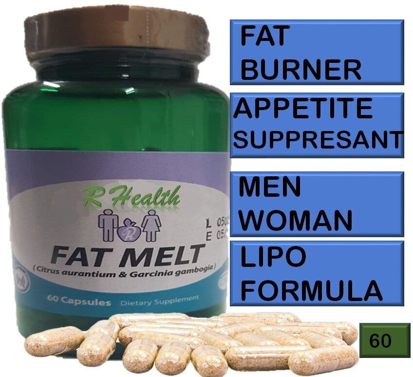 1 NATURE SLIM FAT MELT 60 CAPSULES THE BEST WEIGHT LOSS, FAT BURNER REALLY WORKS