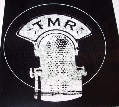 THIRD MAN RECORDS Black Yellow Sticker TMR Microphone Stripes Jack White