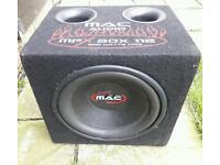 800w MAC audio subwoofer.