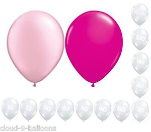 Birthday Party Helium Balloon Cluster DIY Kit - Large Choice of Colours & Ages