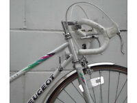 Vintage Ladies racing bike PEUGEOT frame 20in Serviced & warranty - NEW TYRES BRAKES CABLES