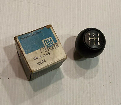 NOS Floor Shift Knob 1973-87 Chevy GM 5 Speed Pontiac 348270 Car