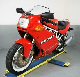 1992 Ducati 750 SS 4k miles 3 owners,collector piece awesome original Supersport