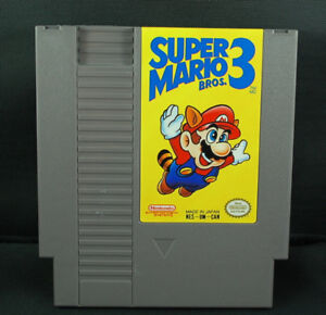 Super Mario Bros 3 NES Game - Clean and Tested!