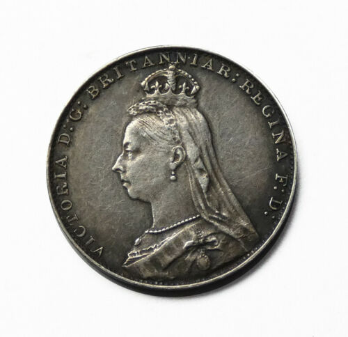 Great Britain 1889 Silver 4 Pence (Groat). Almost Uncirculated+. KM# 773