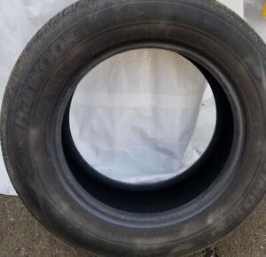 4 pneus toute  saisons P175/70R14