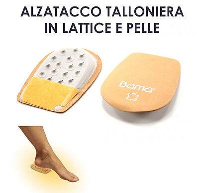 ALZATACCO TALLONIERA IN LATTICE E PELLE PER RIALZARE IL TALLONE NELLA SCARPA