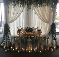 HIGH END WEDDING BACKDROPS AT AFFORDABLE PRICES $300