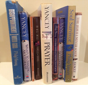 Collection of Phillip Yancey books