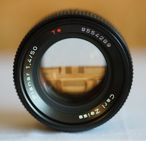 Carl Zeiss T* Planar 50mm f/1.4 for C/Y Mount - TOP MINT