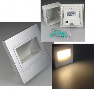 led cob einbauleuchte einbaulampe 230v 1 5w z b f r treppen und wand einbau. Black Bedroom Furniture Sets. Home Design Ideas