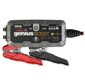 NOCO Genius GB40 Boost+ Jump Starter and Power Bank,1000 Amp NEW