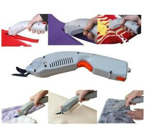 AC100-240V Electric Fabric Scissors Cutter Electric clipper  (022037)
