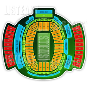 Buffalo Bills tickets Section 243 Row 4