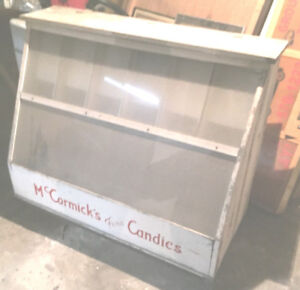 Vintage McCormick's Fine Candies General Store Display Counter
