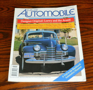 Collectible Automobile rare magazines - the full set from 1998