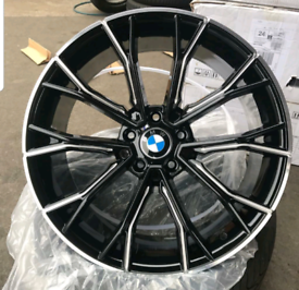 """X4 NEW 19"""" BMW M PERFORMANCE 669 STYLE ALLOY WHEELS BOXED 5X120 3 4 5"""