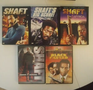 Shaft complete series on DVD and Black Caesar!