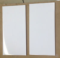 IN-STOCK SALE - 8X16 New Serenity White Polished Ceramic Tile