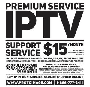Live TV - HD Local and International Content - Starting at $15