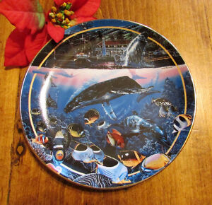 """1996 """"Crystal Waters of Maui"""" by Lassen, Collector's Plate #6 Kitchener / Waterloo Kitchener Area image 1"""